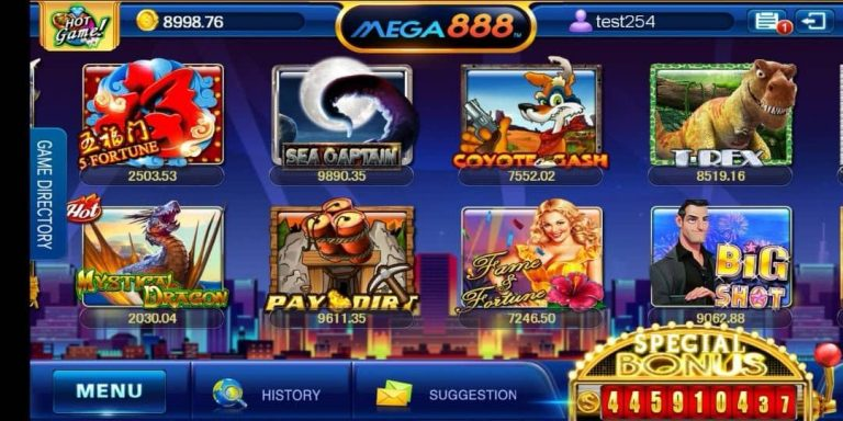 Find Out What MEGA888 Offer To Players